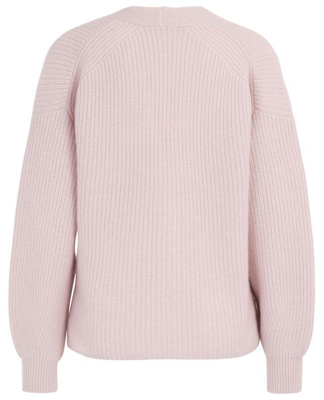 Cardigan tricot col V en cachemire WINDSOR