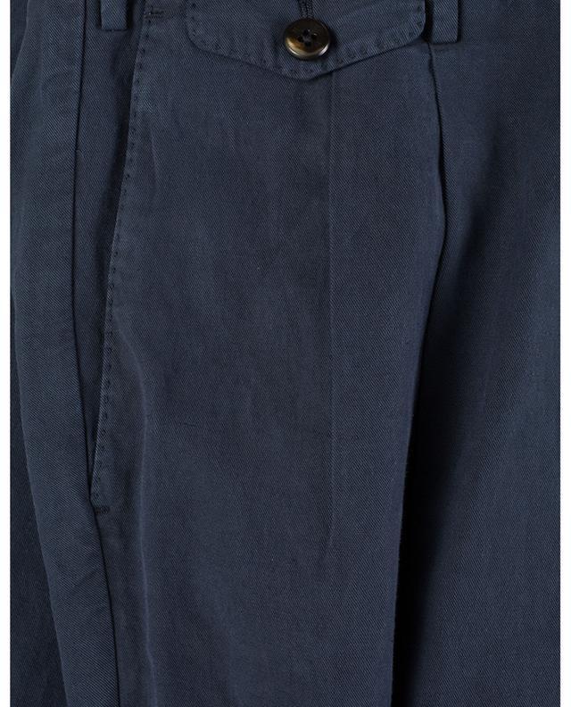 Pantalon en lyocell, lin et coton mélangés PT TORINO