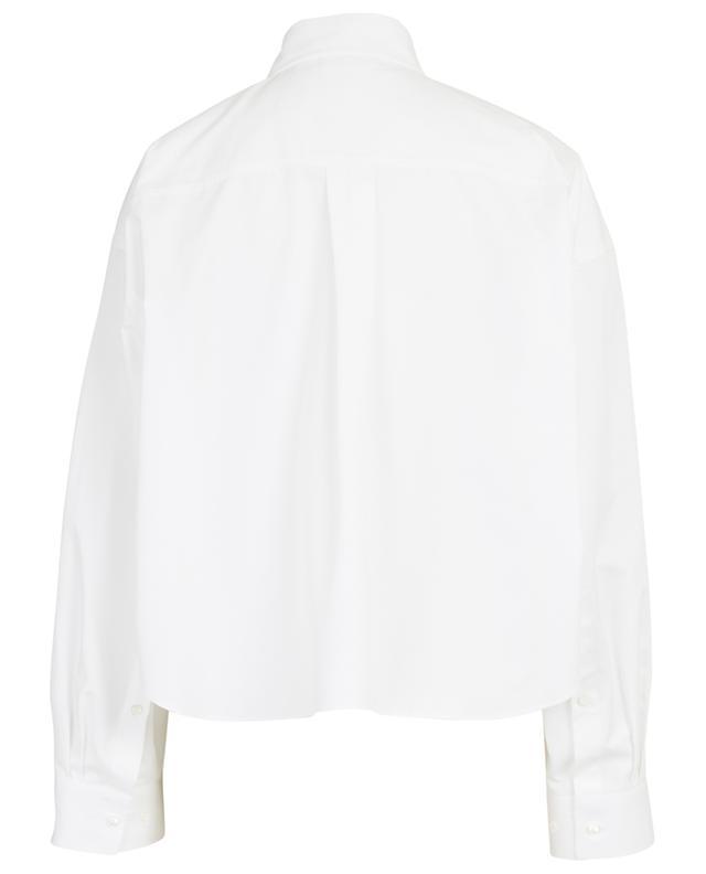 Weites verkürztes Hemd aus Baumwollpopeline VALENTINO