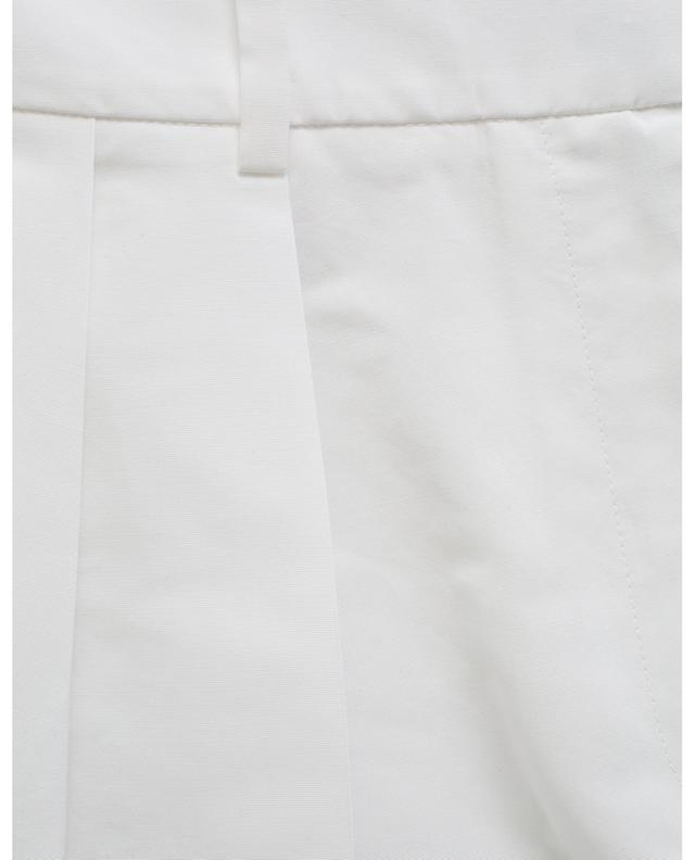 Shorts aus Baumwollmischgewebe mit Aufschlägen VALENTINO