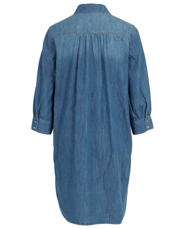 Robe en denim de coton Saburo HANA SAN