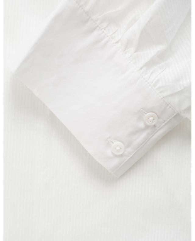 Chemise ample en coton rayé Fujin HANA SAN