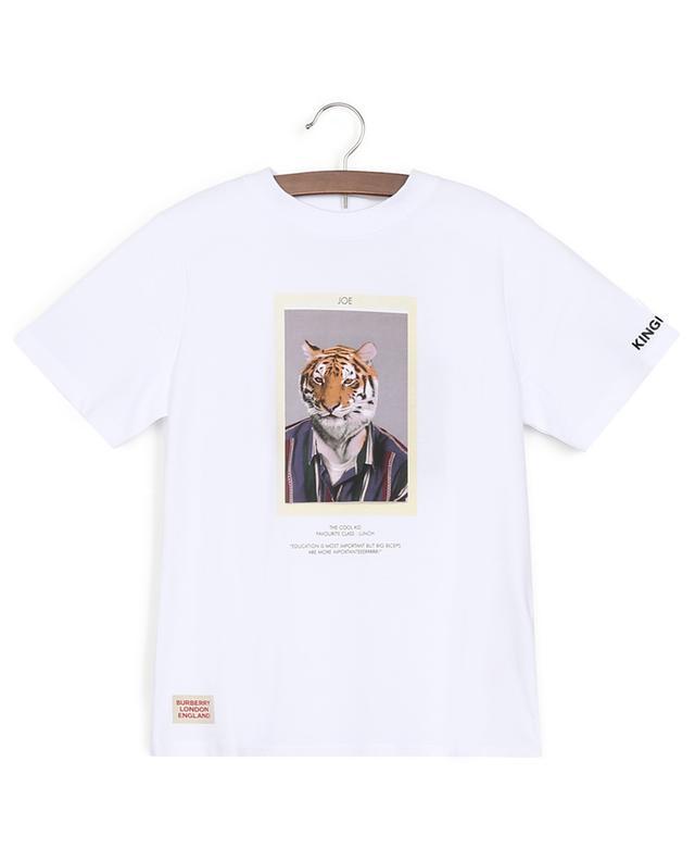 T-Shirt aus Baumwolle Tiger Joe BURBERRY