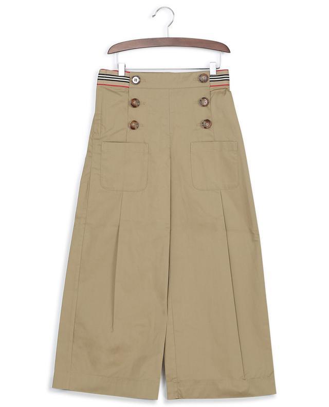 Pantalon à pinces et boutons bijou Tracey BURBERRY