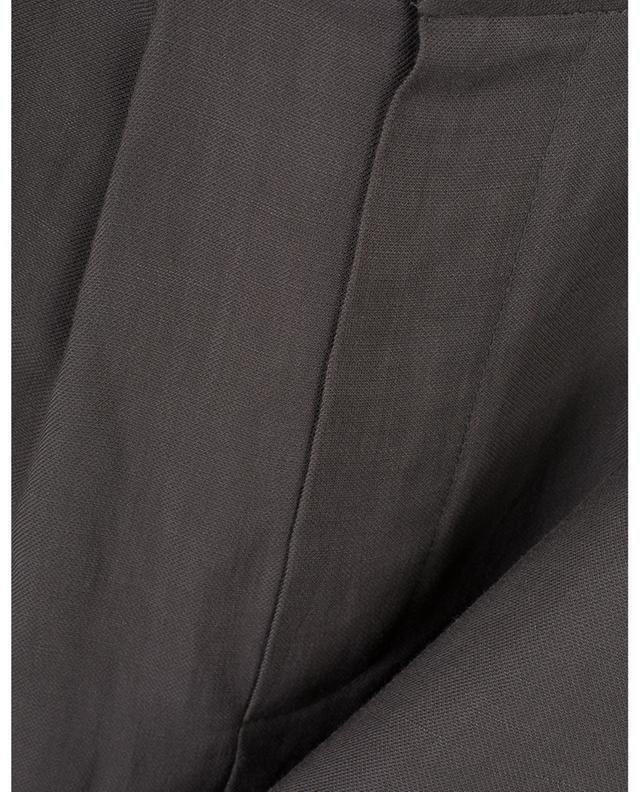 Short plissé en lin mélangé BRUNELLO CUCINELLI