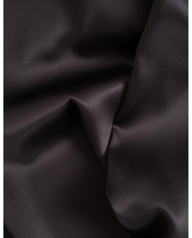 Caraco en soie mélangée avec strass BRUNELLO CUCINELLI
