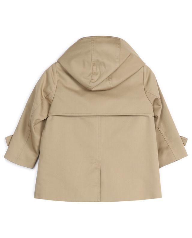 Trench-coat en coton doublé BURBERRY