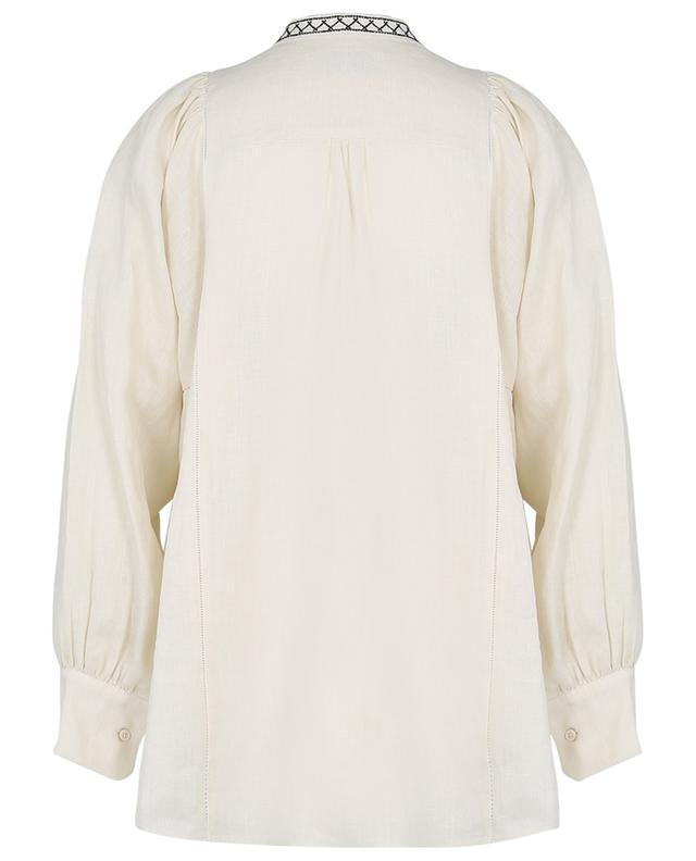 Terni embroidered linen shirt WEEKEND MAXMARA