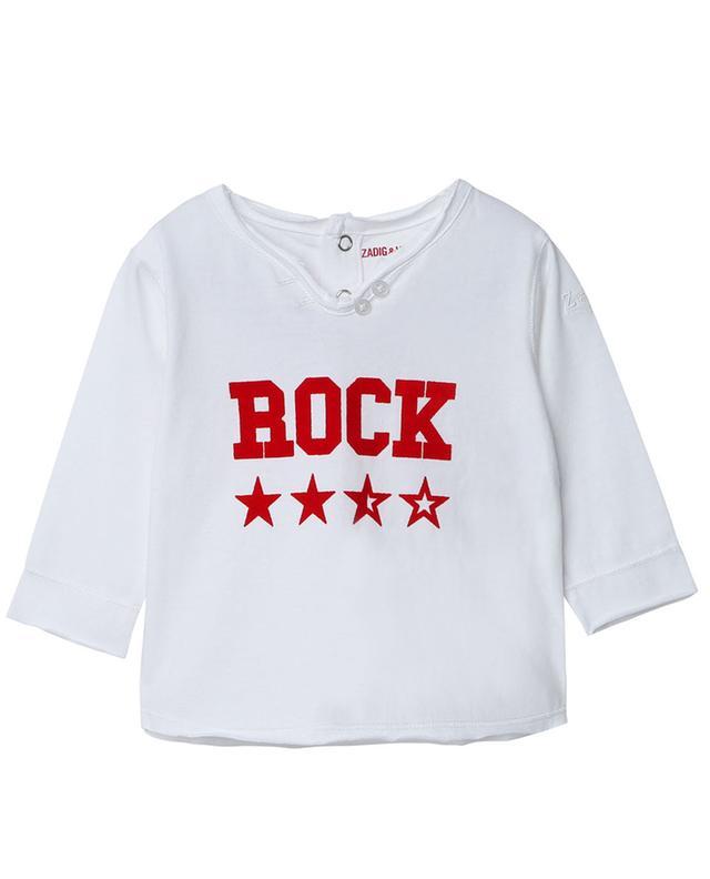 T-shirt à manches longues imprimé étoiles Rock Meo ZADIG & VOLTAIRE