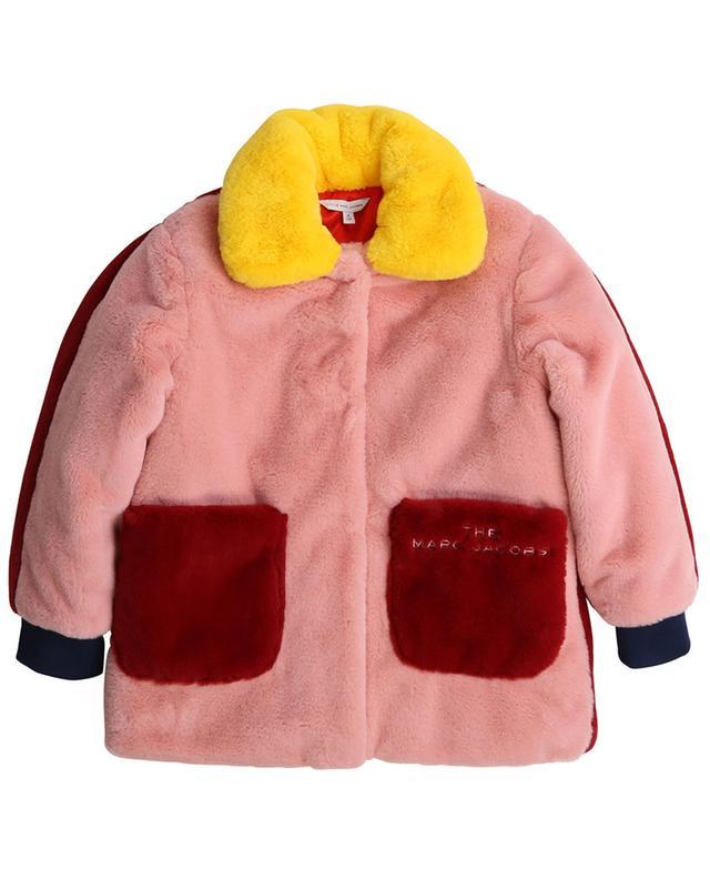 Multicolour faux fur coat THE MARC JACOBS