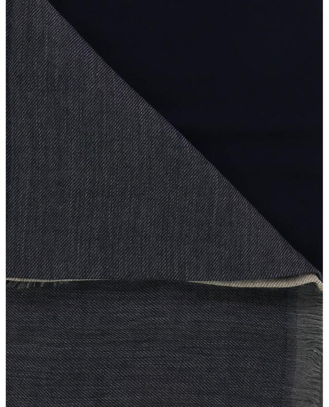 Écharpe bicolore en cachemire et soie Karakorum BRUNELLO CUCINELLI