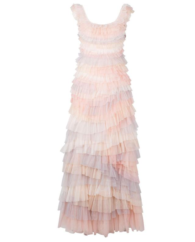 Robe longue sans manches à volants Petra NEEDLE &THREAD