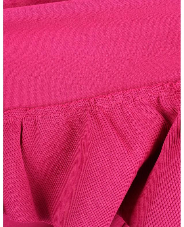 Sweat-shirt raccourci orné de volants RED VALENTINO