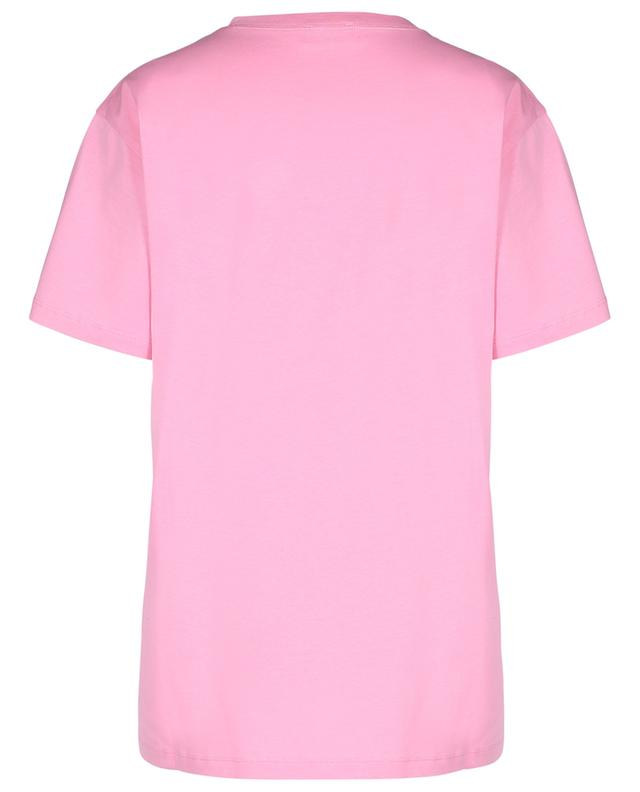 T-shirt oversize pailleté EXTREMELY PINK RED VALENTINO