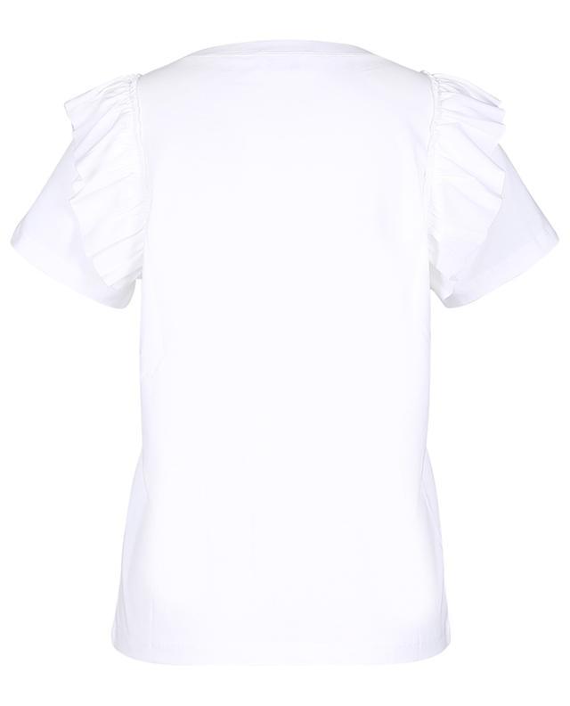 T-shirt en jersey détail volants RED VALENTINO