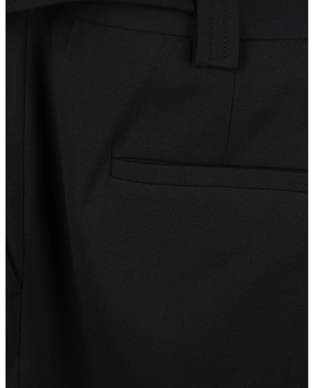 Pantalon slim en gabardine avec ceinture RED VALENTINO