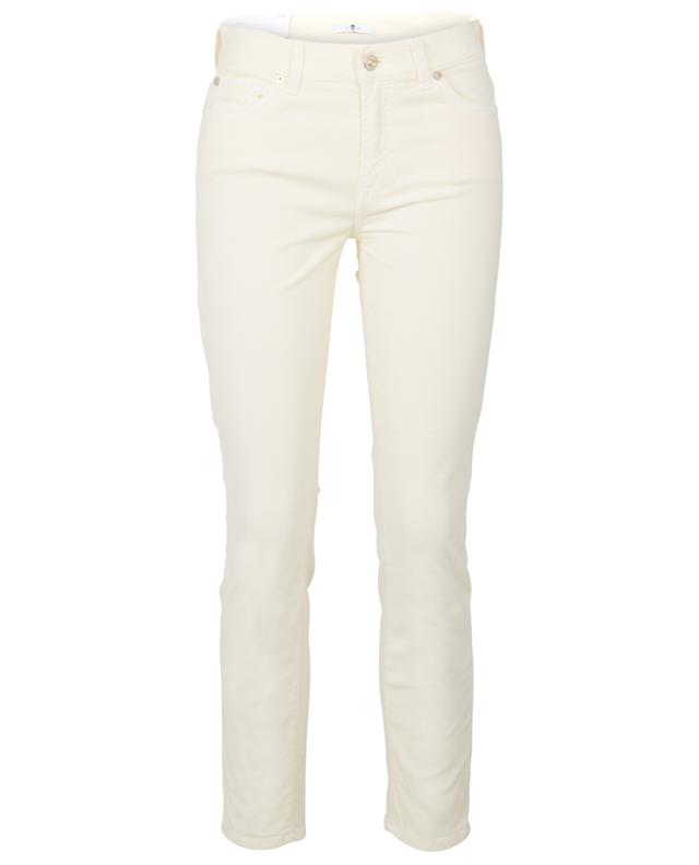 Jean slim en velours côtelé Roxanne Ankle 7 FOR ALL MANKIND