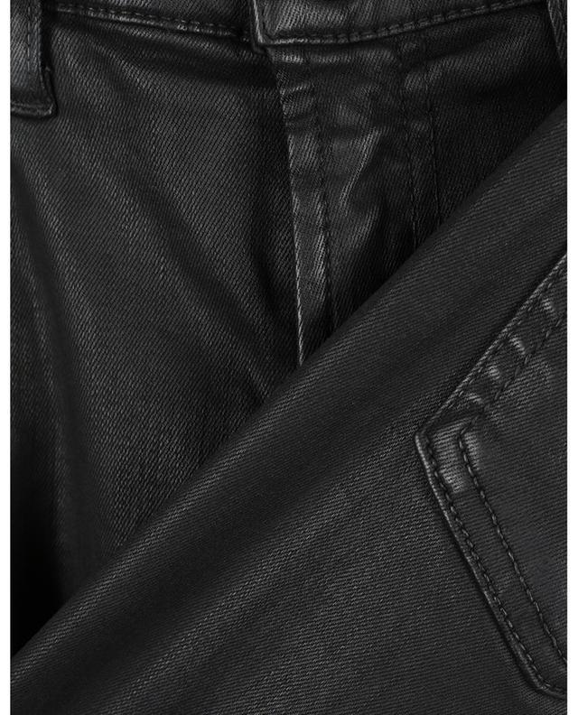 Jean enduit super skinny The Skinny Coated Slim Illusion Black 7 FOR ALL MANKIND