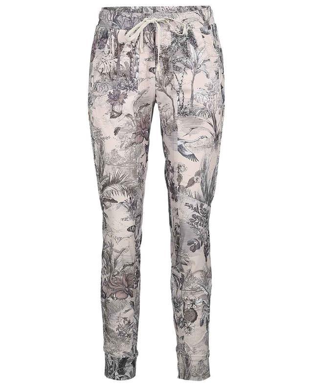 Pantalon fuselé esprit jogging imprimé jungle Jorden CAMBIO