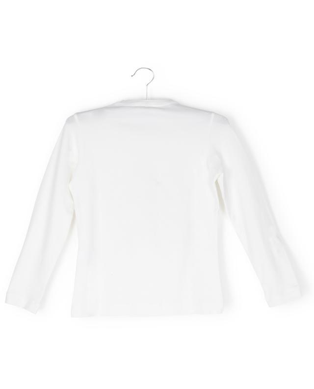 T-shirt à manches longues imprimé chien Paris MONNALISA