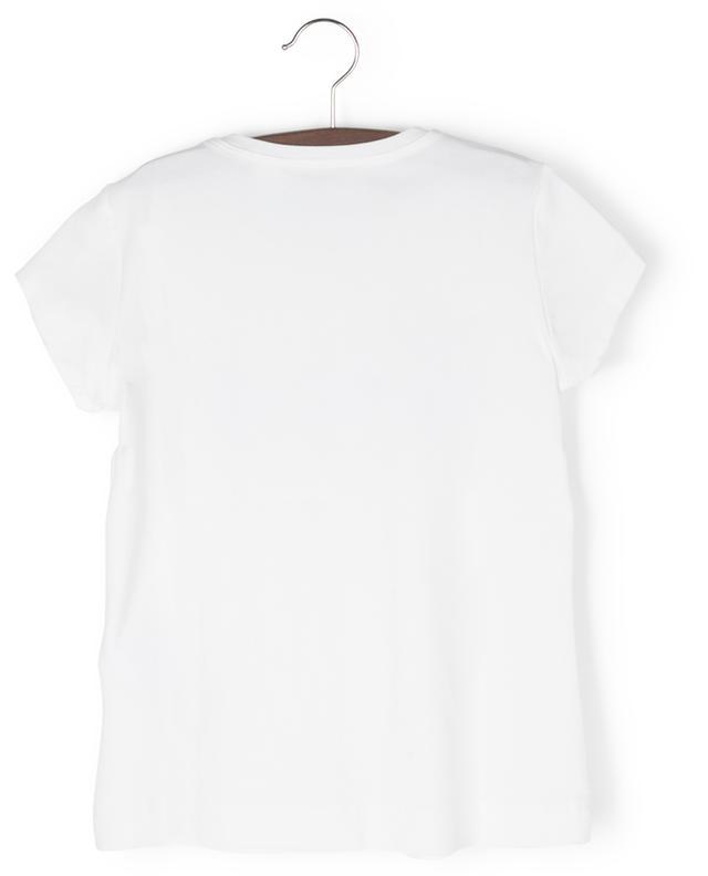 T-shirt à manches courtes imprimé fleurs Paris MONNALISA