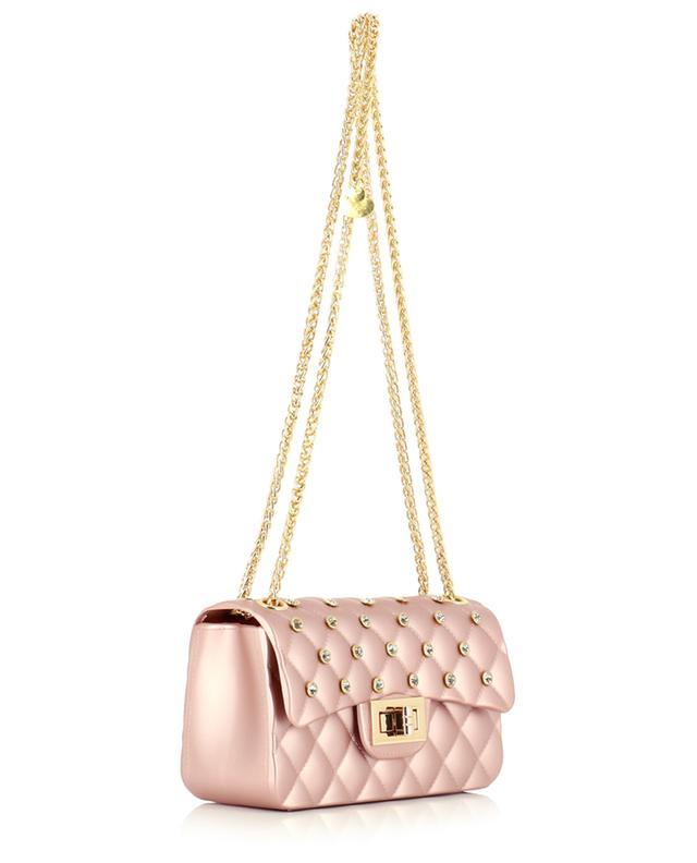Petit sac porté épaule en PVC MONNALISA