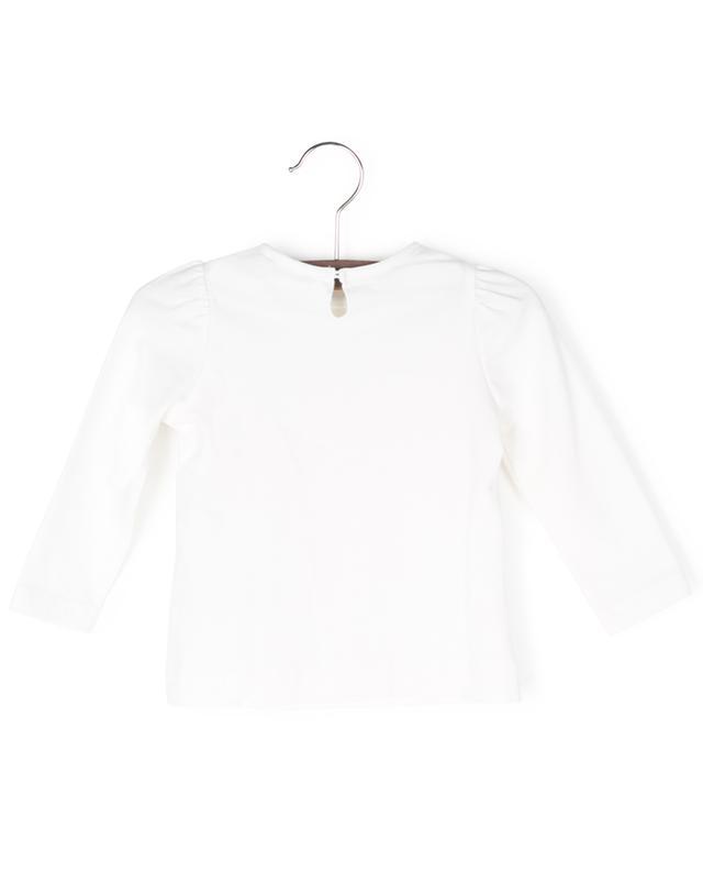 T-shirt à manches longues embelli tutu et nounours MONNALISA