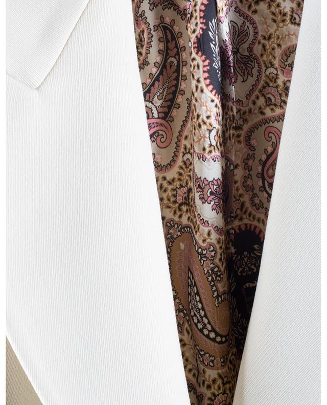 Bale cinched blazer in textured wool ETRO