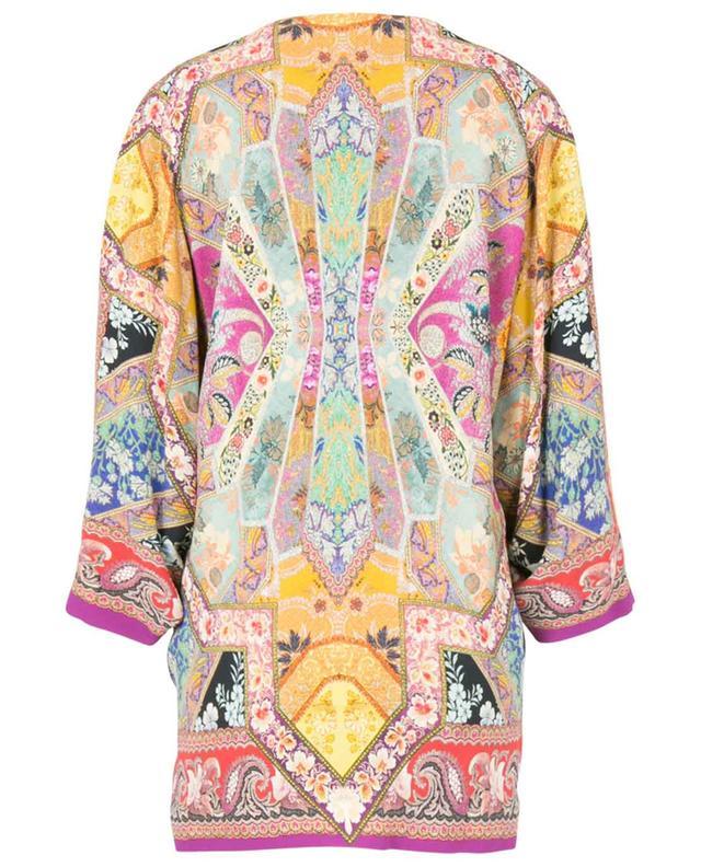 Veste légère esprit kimono imprimée patchwork Campeiro ETRO