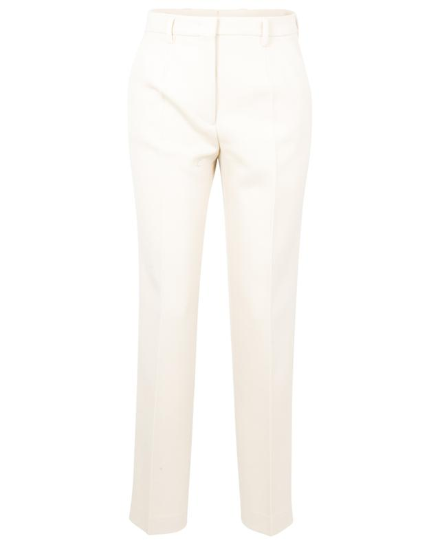 Pantalon droit en laine texturée à bandes grosgrain Bristol ETRO