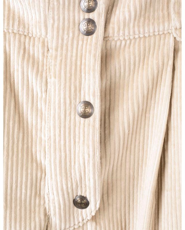 Cordhose aus Baumwolle mit hohem Bund ETRO