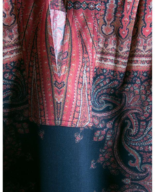 Robe tunique en sergé imprimé oriental Andravida ETRO