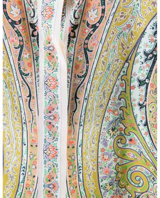 Chemise longue en soie imprimée Andravida ETRO