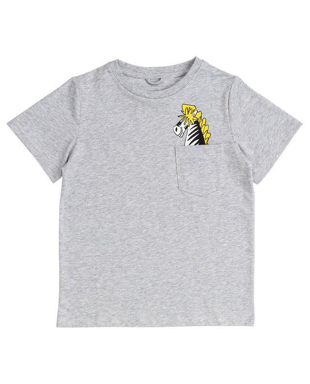 T-shirt à manches courtes Zebra in My Pocket STELLA MCCARTNEY KIDS