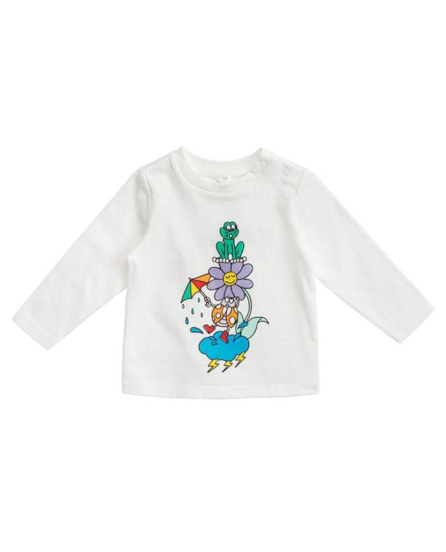 T-shirt à manches longues imprimé Ladybug & Frog STELLA MCCARTNEY KIDS