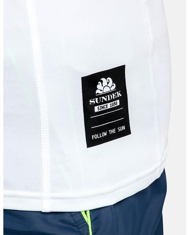 UPF 50+ round neck tee RASH GUARD SUNDEK