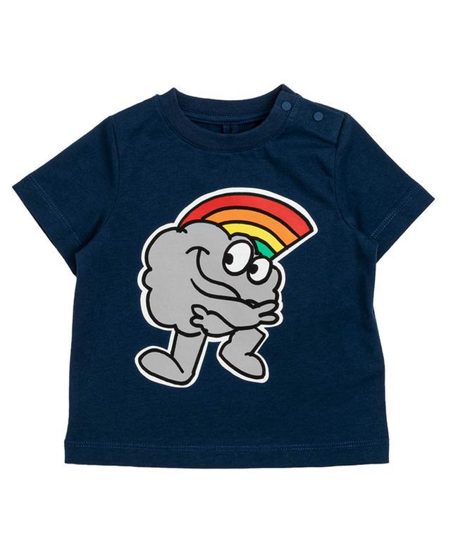 T-shirt à manches courtes imprimé Rainbow Cloud STELLA MCCARTNEY KIDS