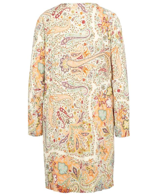 Robe courte en jersey imprimé paisley Baluchi ETRO