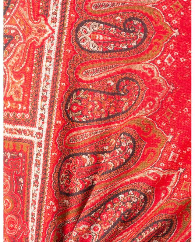 Pull fin imprimé motifs tapis Campeiro ETRO