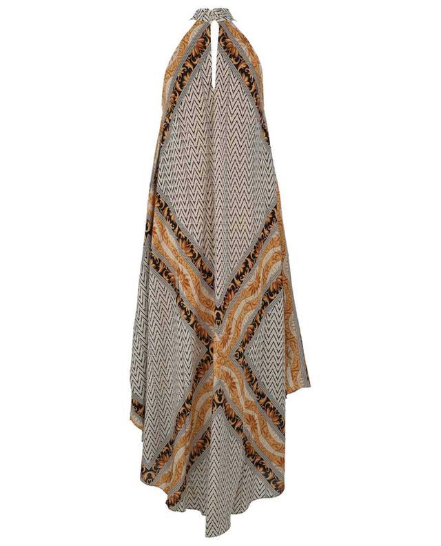 Robe longue en soie imprimée Scelerate MES DEMOISELLES