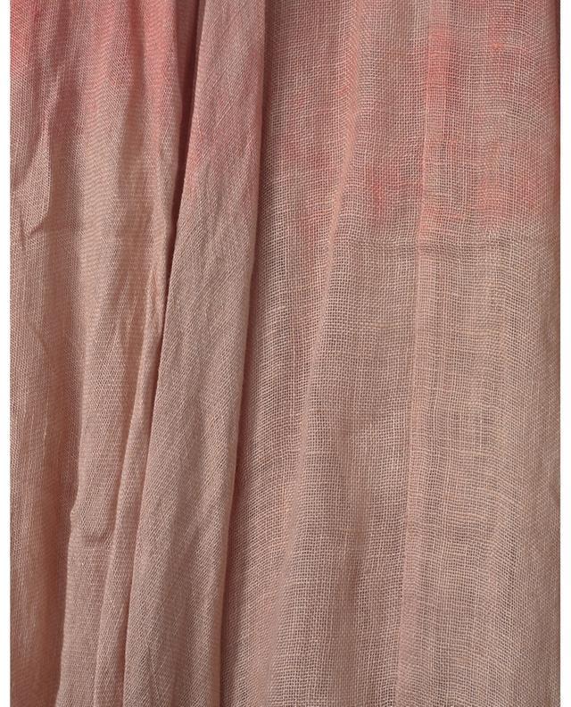 Jupe midi en lin avec dégradé de couleurs Carroll MES DEMOISELLES