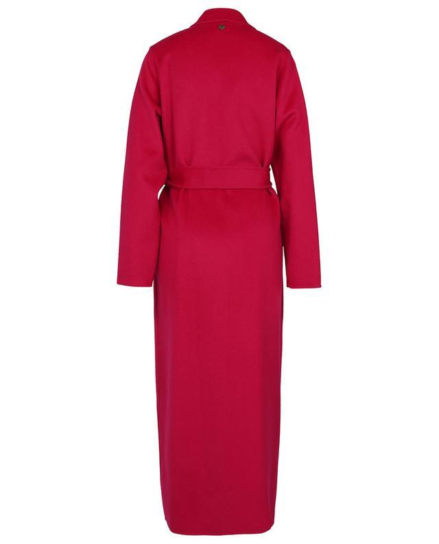 Long wool blend coat with belt TWINSET