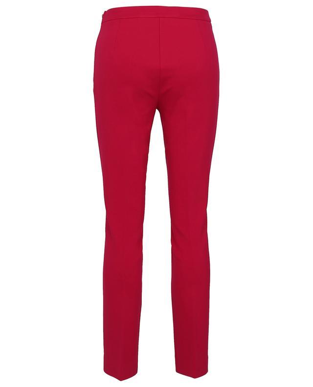 Pantalon slim en viscose mélangée stretch TWINSET