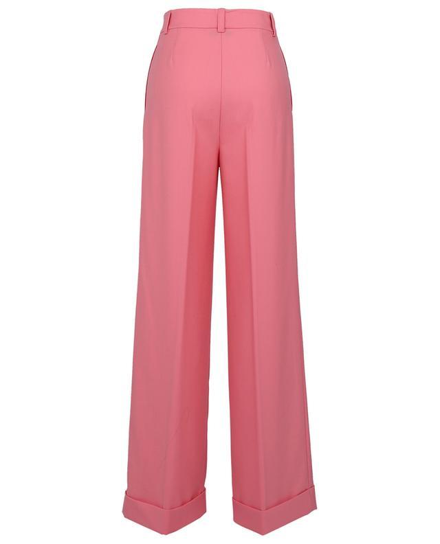 Weite Hose mit Falten aus Wollmix TWINSET