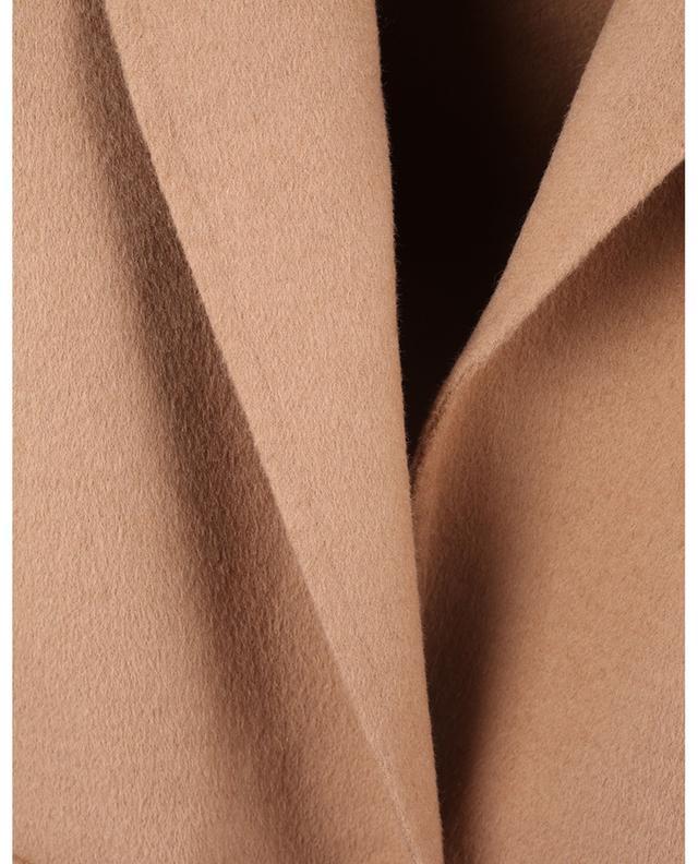 Blazer double-face en feutre de laine mélangée TWINSET