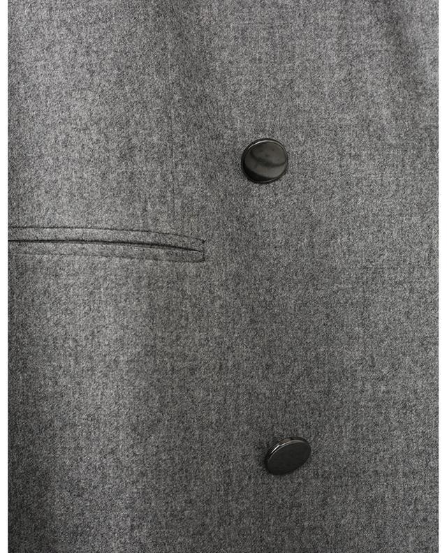 Blazer à boutonnière double en laine vierge LORENA ANTONIAZZI