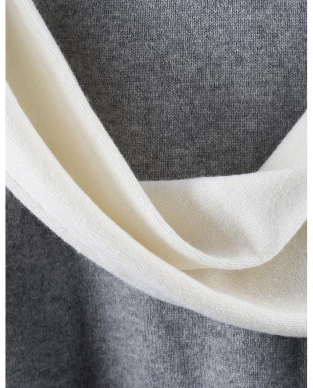 Robe pull à col roulé en laine vierge, soie et cachemire LORENA ANTONIAZZI