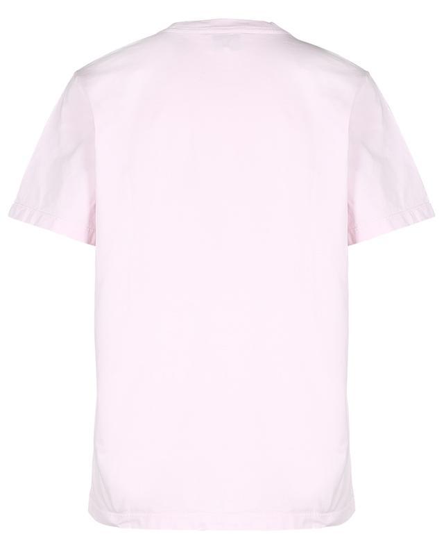 T-shirt décontracté en coton bio imprimé Smiley Please Recycle GANNI