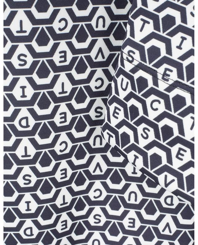 Graphische Slim-Fit-Hose mit graphischem Logoprint Sabrina SEDUCTIVE