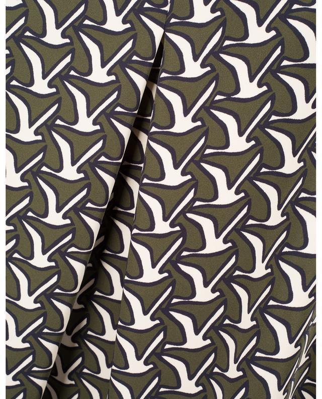 Jada short flared bird printed skirt SEDUCTIVE